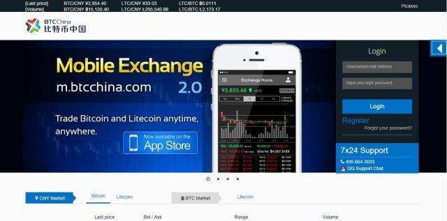 BTC China-Bitcoin Exchanges