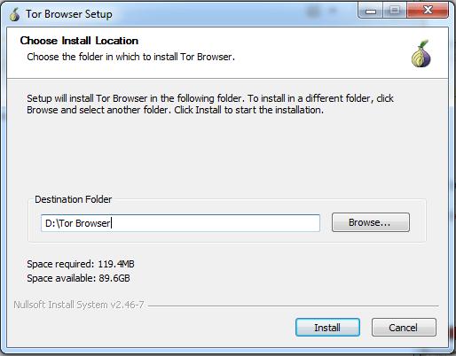 Tor Browser Installation-step 3
