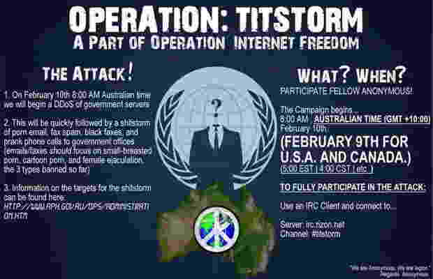 Operation Titstorm