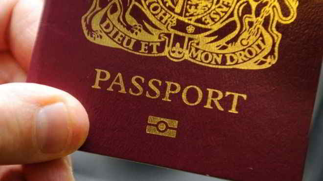 British Passports sold on the dark web for £750